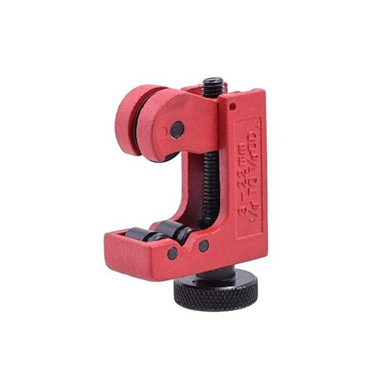 RED MINI TUBE / PIPE CUTTER - SUITABLE FOR STAINLESS, COPPER, ALUMINIUM & GENERAL PLUMBING