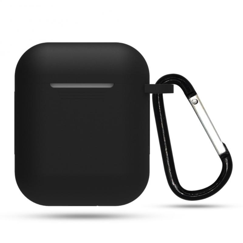 For Apple Airpod Case Cover Wireless Bluetooth Earphone Silicone Charging Headphones Cases Protective For Apple AirPods