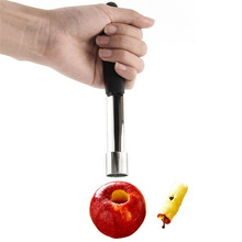 180mm(7) Apple Corer Pitter Pear Bell Seed Remover pepper Twist Fruit Core Remove Pit Kitchen Tool Gadget Stoner Easy