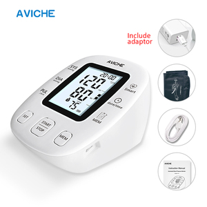 Image 1 - AVICHE Professional Automatic Digital Arm Blood Pressure Monitor Backlit LCD Display Talking Medical Device Sphygmomanometer