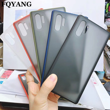 Transparent Candy Color Case for Samsung Galaxy NOTE10+ NOTE 10 S10 PC Hard Back Cover Case for Samsung A50S A70 A30S A20 A10
