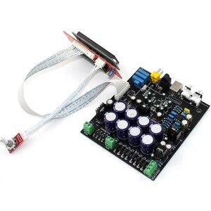 Image 3 - Sem cartão filha usb ak4490 + ak4118 op amp ne5532 decodificador de controle macio dac placa decodificador de áudio F2 011