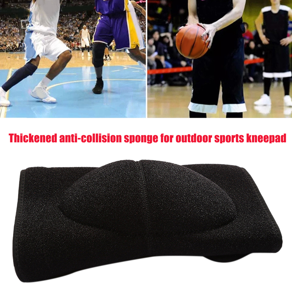 1pair Support Basketball Leg Warmer Dancing Outdoor Sports Thick Sponge Home Gardening Shock Absorption Knee Pads Pain Relief