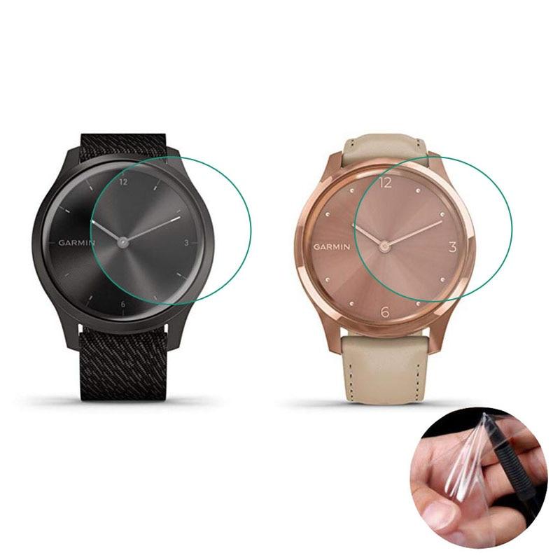 5pc Soft Clear Protective Film Guard Protection For Garmin Vivomove Style/Luxe GarminMove Vivo Move Watch Screen Protector Cover