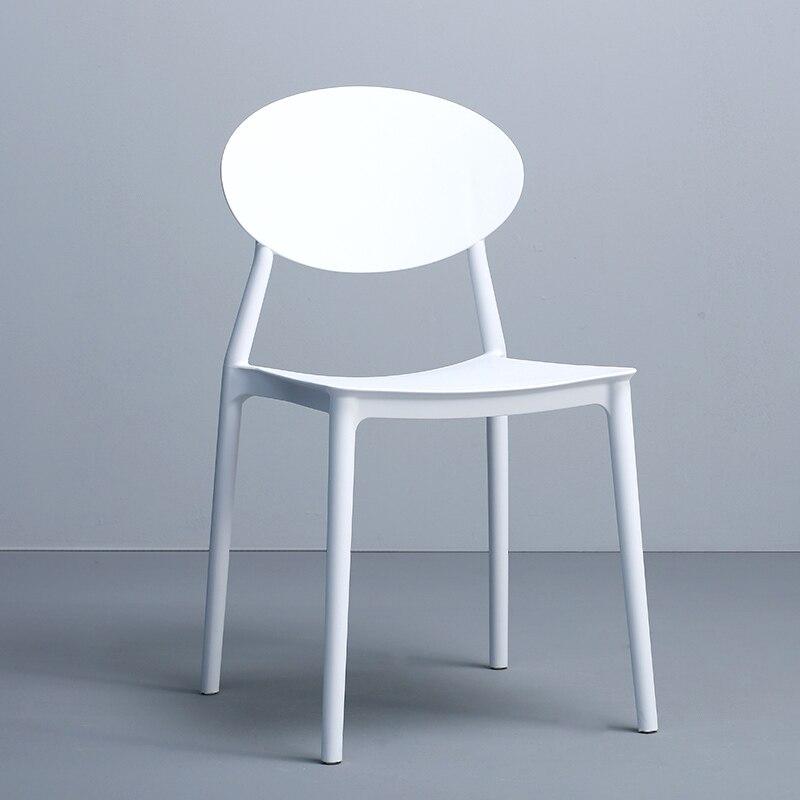Chair Home Modern Minimalist Lazy Plastic Stool Chair Nordic Leisure Chair Ins Net Red Negotiation Chair Original Design