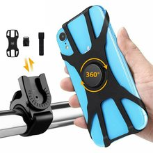 360° Rotating Bike Motorbike Bicycle Phone Mount Case Holder Universal All Mobile Phone(China)