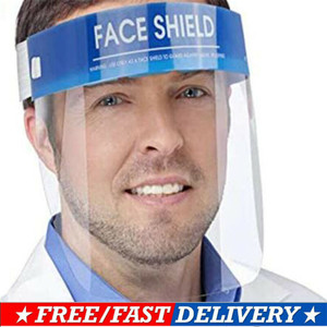 1PC Professional Clear Full-Face Shield Protection Transparent Protective Safety for Adults IN STOCK(China)