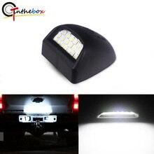 1 шт. Gtinthebox 6000K Xenon Белый 18-SMD полный светодиодный для Chevrolet Silverado GMC Sierra 1500 2500 3500 огни номерного знака грузовика