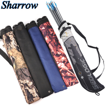 Portable Arrow Bag Bow Archery Shooting Back Shoulder Case Bag Waist Arrow Quiver Crossbow Hunting  A variety of styles 45 8 5cm arrow quiver oxford cloth arrow bag 2 point single shoulder for archery hunting shooting archery