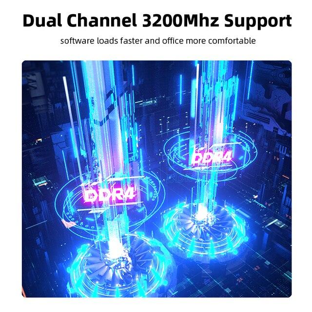 Machenike AMD Ryzen 5 4500U Laptop WiFi 6 Ultrabook R5 4500U 8G 3200MHz 512G SSD 15.6'' FHD Notebook Office Student Laptop 3