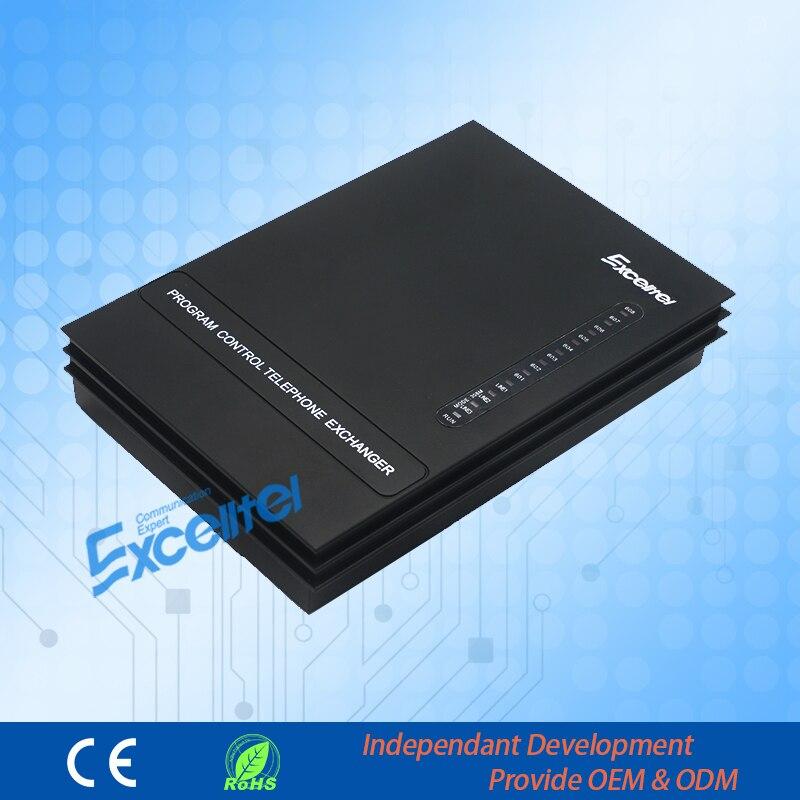 EXCELLTEL PABX système MD206 système téléphonique de bureau PBX 2 CO ligne et 6 extensions - 5