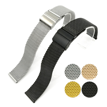 18mm 20mm 22mm Metal Watchband For Samsung Galaxy Watch Active2 Gear S2S3 For Huawei Watch GT2 Bracelet Wrist Band Quick install