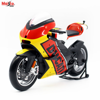 Maisto 1:6 German flag version 2011 Ducati alloy motorcycle racing car model collection gift