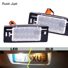 2Pcs LED License plate light number plate lamp Car Light Bulbs for Opel Vectra C Estate 2002-2008 Car light source 2pcs 10 30v 6leds license plate light lamp bulbs number plate light for motorcycle boats aircraft automotive trailer rv truck