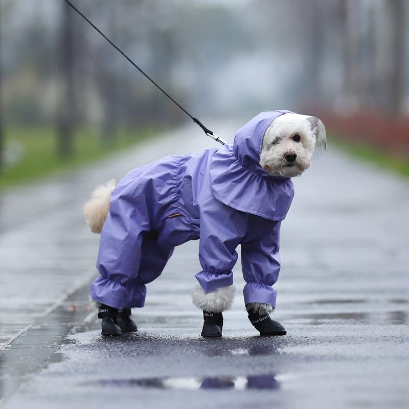 Köpek Yağmurluk Tulum