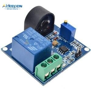 Реле постоянного тока 5 в 12 В 24 В 5A, модуль датчика обнаружения переменного тока, модуль защиты от перегрузки по току, выход переключателя защ...