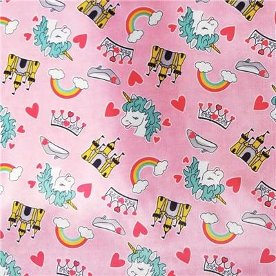 Print PUL Fabric TPU Coating Used for Baby Reusable Cloth Diaper DIY Blanket Pillow Waterproof Fabric Wet Bag Diaper Wholesale