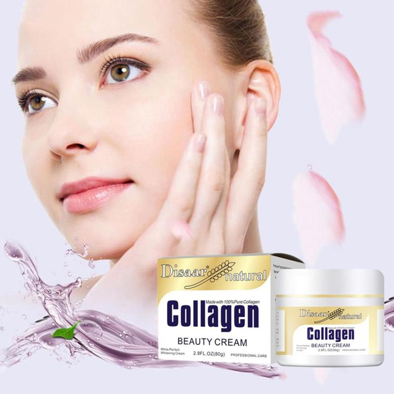 80g Collagen Power Lifting Cream Firming Face Cream Skin Care Whitening Moisturizing Anti Wrinkle Facial Cream