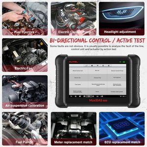 Image 4 - Aute OBD2 Scanner Car Diagnostic Auto Tool MaxiDAS DS808K Code Reader Better DS808 DS708 Functional Better than launch x431