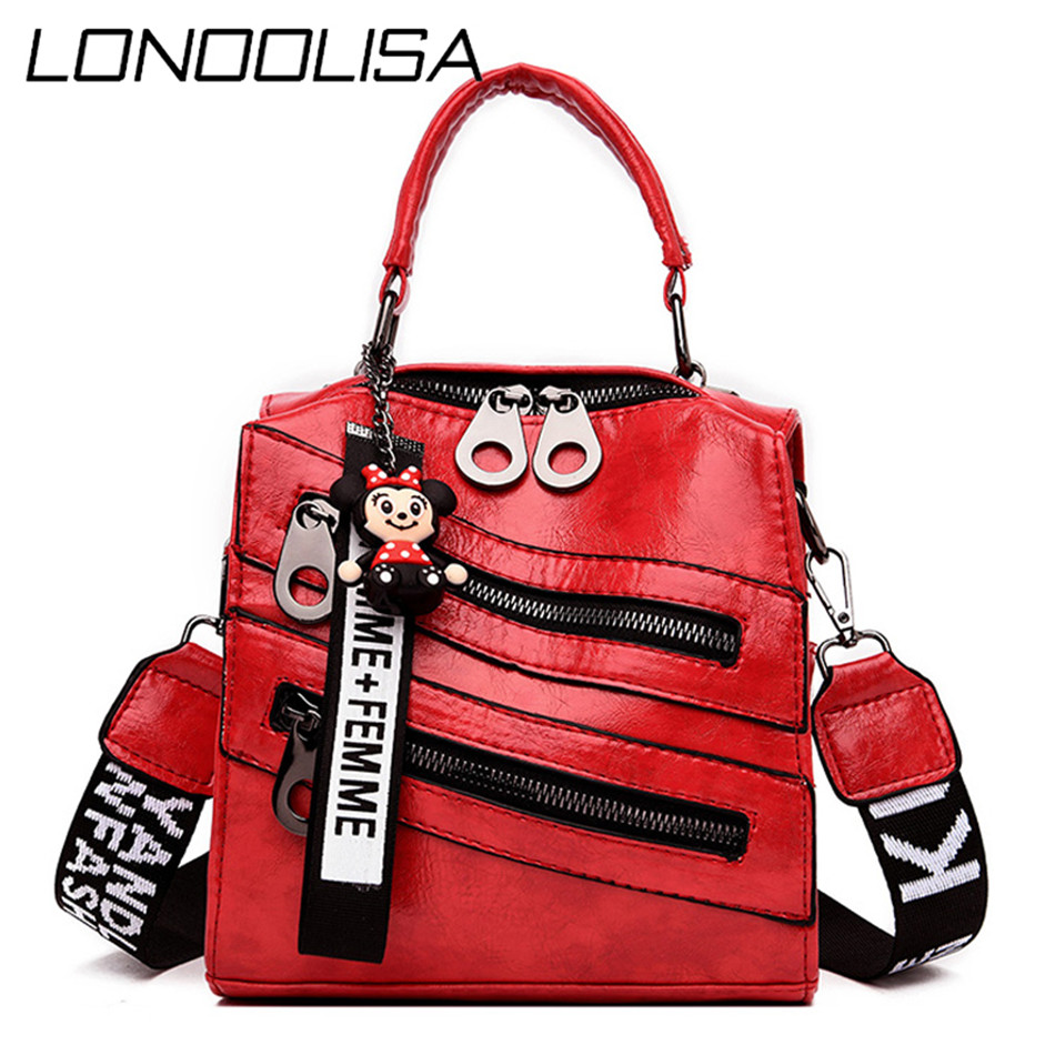 Women Leather Backpacks Mochila Female Shoulder Bag Multifunction Fashion Ladies Small Backpack Travel Bags For Girls Backpack