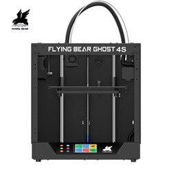Envío desde el almacén ruso y europeo Flyingbear-Ghost4S kit de impresora 3d con pantalla táctil DIY KIT 3D, juego de accesorios