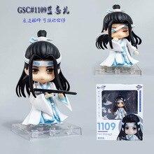 อะนิเมะMo Dao Zu Shi Grandmaster Of DemonicการเพาะปลูกLan Wangji 1109 PVC Action Figureตุ๊กตาของเล่นตุ๊กตาของขวัญ