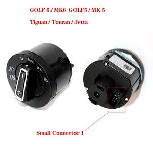 Image 5 - 자동 헤드 라이트 스위치 라이트 센서 모듈 업그레이드 크롬 골프 4 J etta MK4 Passat B5 P olo 캐디 골프 6 골프 7 Tiguan