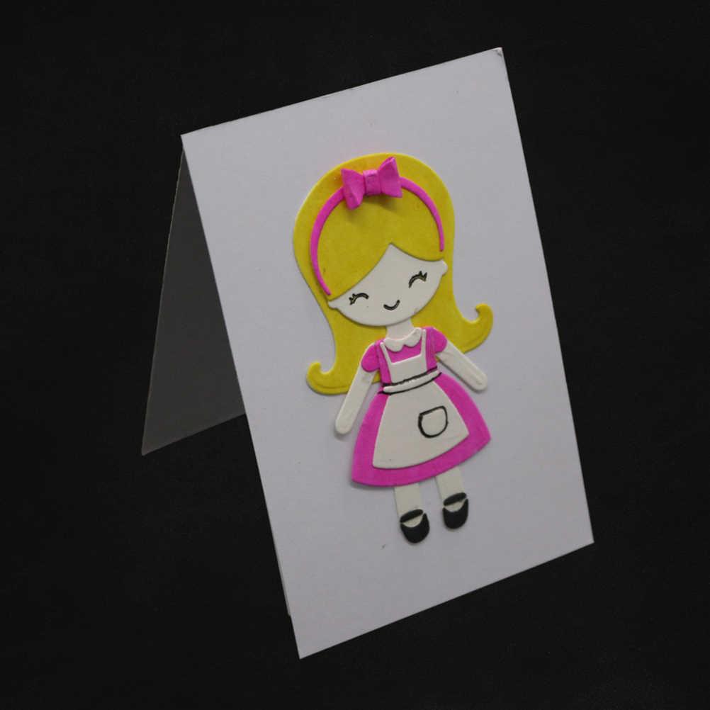 ตายตัดโลหะแม่แบบแม่พิมพ์ DIY โลหะ Embossing Stencil สำหรับอัลบั้ม Scrapbooking กระดาษการ์ดหัตถกรรม Decor