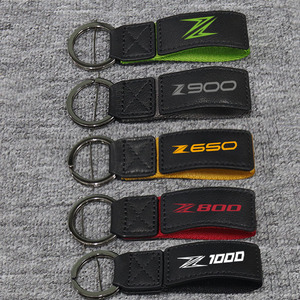 3D Key Holder Chain Collection Keychain For Kawasaki Z250 Z300 Z1000 Z800 Z900 Z650 Z1000SX Z750 Z400 Motorcycle Key Ring Key
