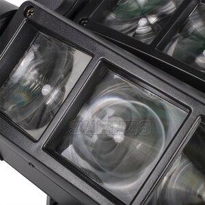 Image 5 - Schnelles Verschiffen Mini LED Strahl Spinne 8x10W RGBW Moving Head Beleuchtung LED Bühne Licht Gute Für Parteien DJ Disco Hochzeit Dekoration
