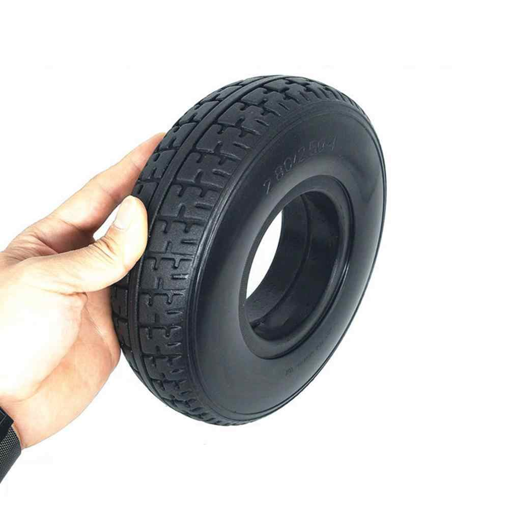 Battery Car Solid Tire 2.80/2.50-4 Mobility Scooter Wheelchair Tyre Electric Scooter  Aluminium Alloy Wheel Electric Vehicle