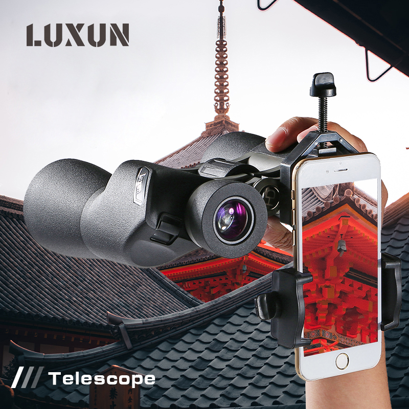 LUXUN <font><b>16X50</b></font> New High-Definition Military Hunting Telescope Powerful <font><b>Binoculars</b></font> lll Light Night Vision <font><b>Binoculars</b></font> Bak4 Prism image
