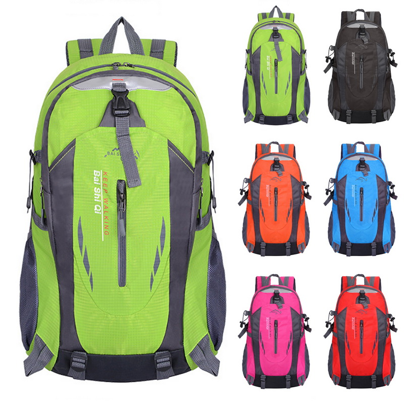 LOOZYKIT Men 40L Waterproof Travel Backpack   Backbag For Hiking Cycling  Outdoor Women Theft Sports Bags
