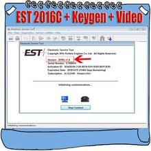 وظيفة كاملة 2016C لبيركنز EST أداة الخدمة الإلكترونية برنامج التشخيص + Keygen نشط + تثبيت الفيديو