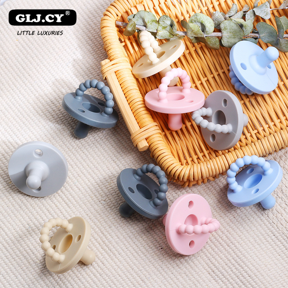 New Pacifier Newborn Kids Baby Boys Girl Dummy Nipples Food-grade Silicone Pacifier Orthodontic Soother 0-36Months 1pcs