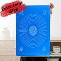 Очень большой коврик для замеса теста антипригарный силиконовый коврик для кухонного стола печенья кондитерский коврик для выпечки лист т...