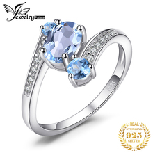 2.48ct Natural Sky Blue Topaz Gemstone Ring Pure Solid Genuine 925 Sterling Silver 2015 Brand New Vintage Gift For Women Jewelry