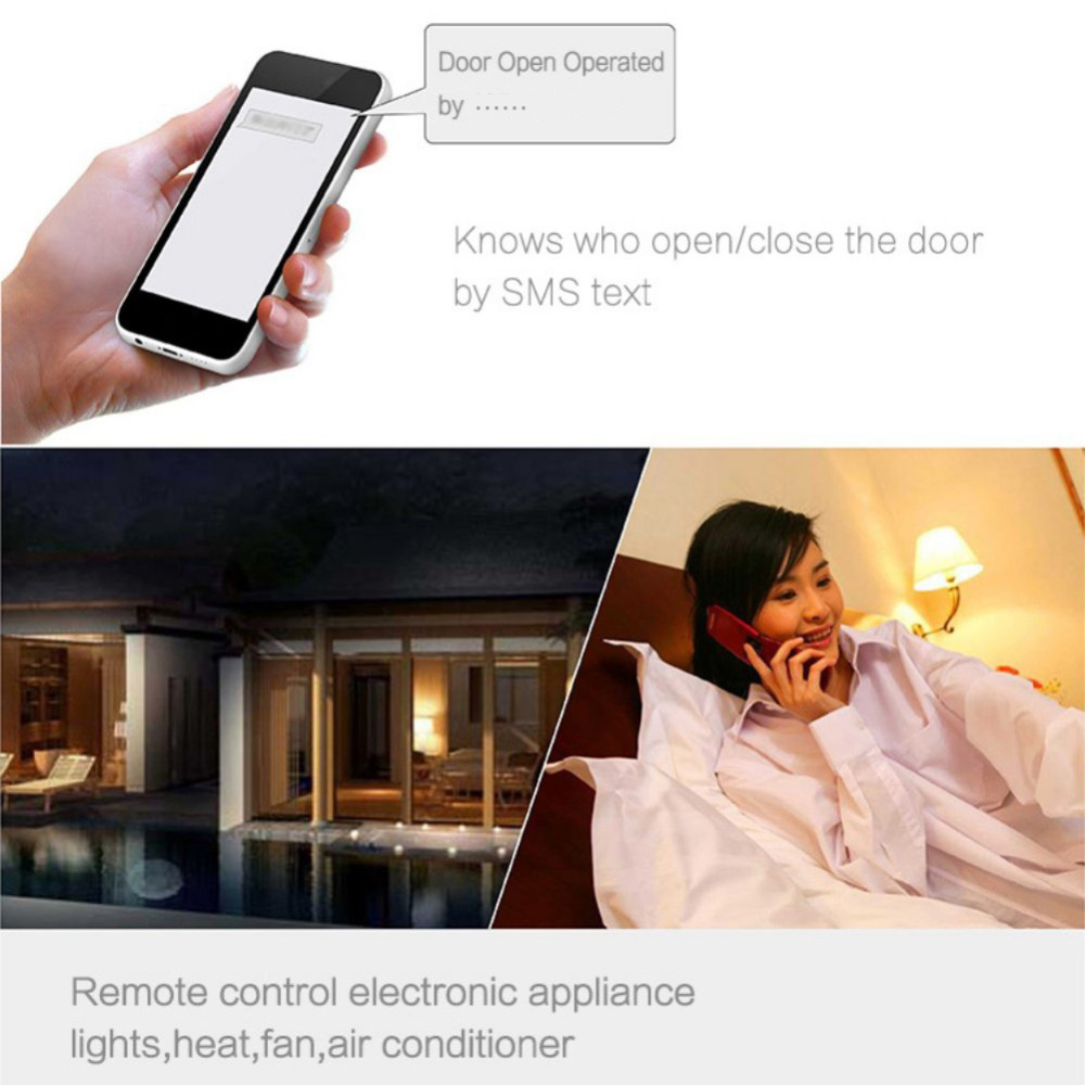 HonesThing GSM 2G 3G Gate Opener Remote Control by Free Call RTU5034 Access Controller for Sliding Swing Garage Gate Door 9