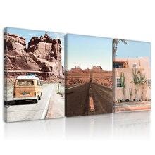 Декор для стен в гостиную пустыня готовая к висению каркасная