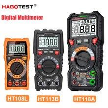 Digital Multimeter HABOTEST Voltage Current Tester Professional Automotive Multimeter High Accuracy Ohm Hz Capacitance Meter