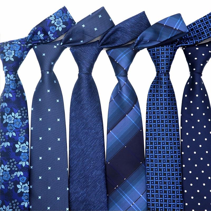 Fashion Men/'s Ties Red Black Blue Flower Dot Silk Necktie Wedding Party Gift