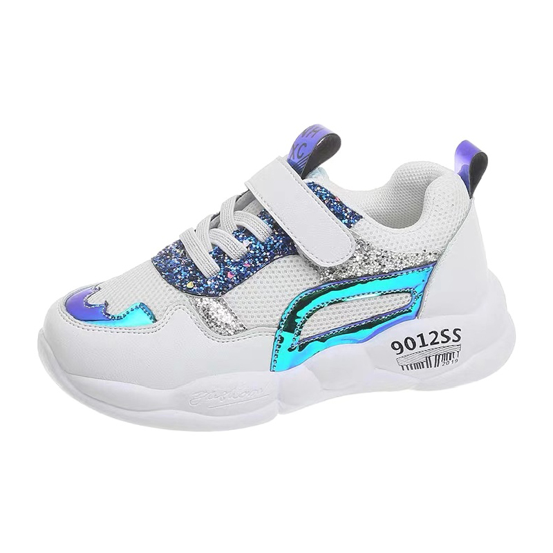 Glitter Shoes Girls Sneakers Soft Boys Footwear New Arrival Teens Sport Shoes Kid Boys Children 2020 Spring Gym Shoes For Girls