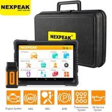 NEXPEAK Obd2เครื่องสแกนเนอร์ K1 Pro Car Diagnosis Universal ABS SRS DPF รีเซ็ตน้ำมันบลูทูธคีย์อัตโนมัติรหัส Reader PK x6 MK808