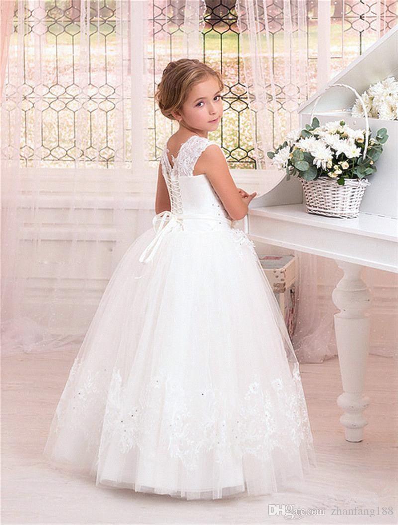Платья с цветочным узором для девочек на свадьбу, Хэллоуин, Пасху, день рождения, платье принцессы, вечерние платья для причастия, платье под...