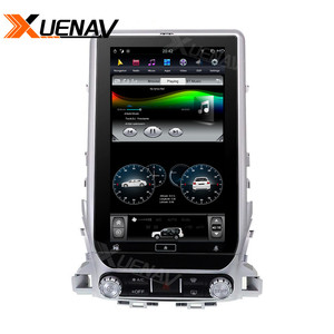 Image 4 - 13.6 inch Car radio tape recorder head unit multimedia player for TOYOTA LAND CRUISER 2016 2019 Car GPS Navigation for TOYOTA