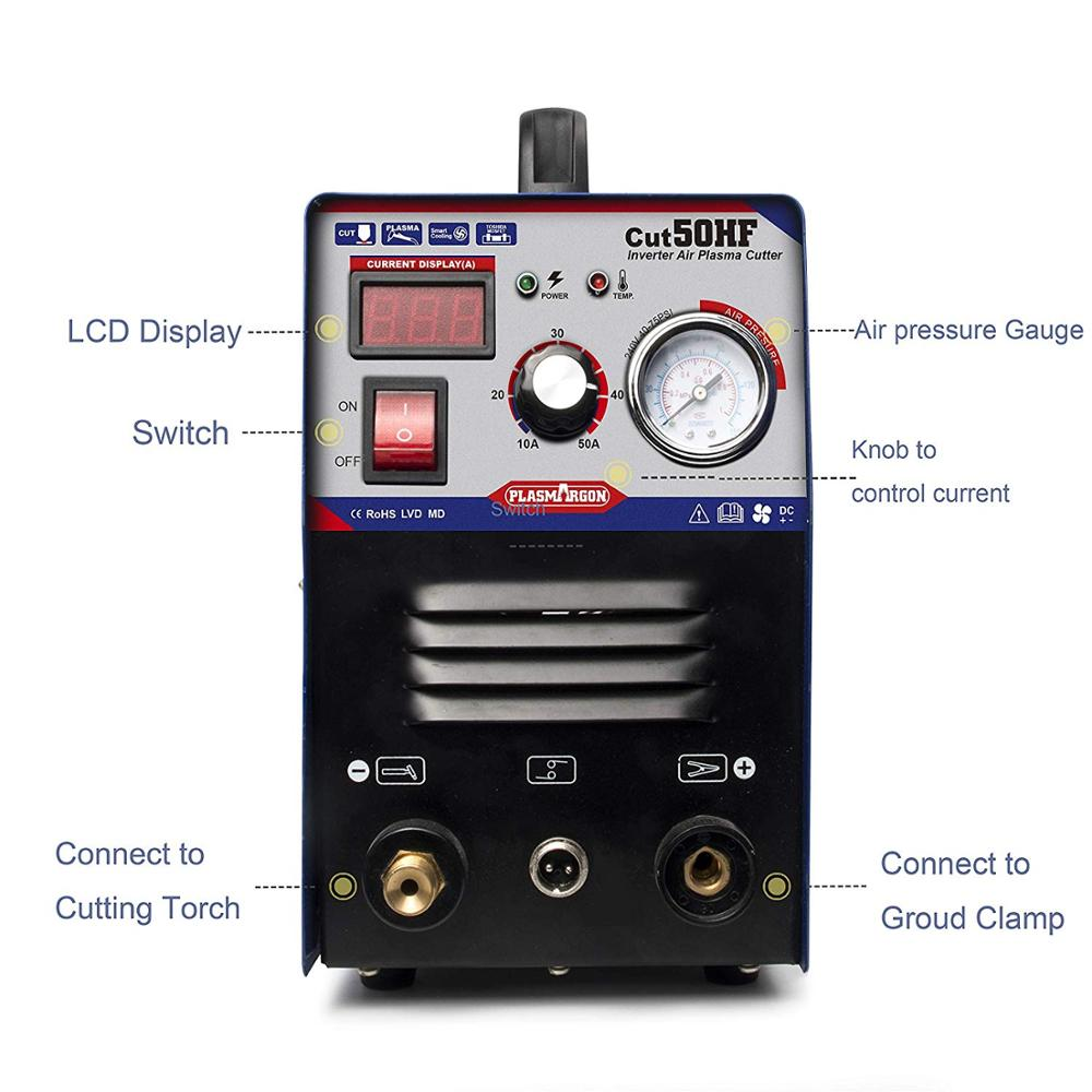 Air Inverter Plasma Schneiden Maschine-Tosense CUT50 Dual Spannung 50A Plasma Cutter … (110/220V)