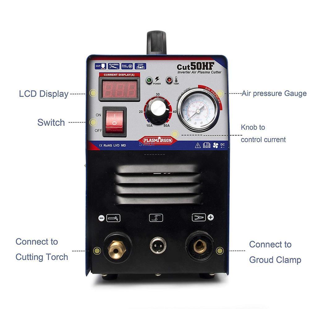 Maszyna do cięcia plazmowego Air Inverter-Tosense CUT50 podwójne napięcie 50A palnik plazmowy... (110/220V)