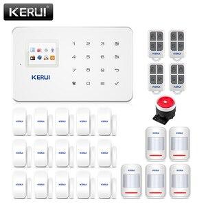 Image 1 - Corina G18 Apps Home Security Alarm Systeem 433 Mhz Gsm Inbreker Alarme Pak Bewegingsmelder Alarmas De Seguridad Para casa