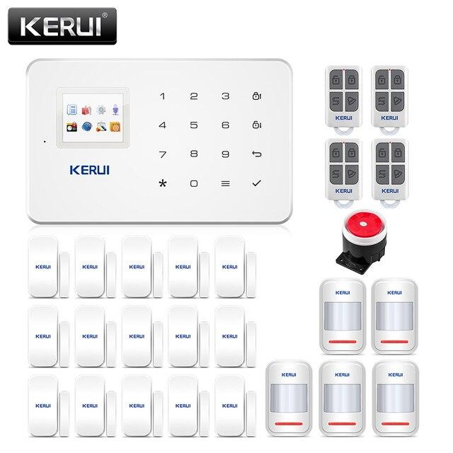 Corina G18 Apps Home Security Alarm Systeem 433 Mhz Gsm Inbreker Alarme Pak Bewegingsmelder Alarmas De Seguridad Para casa