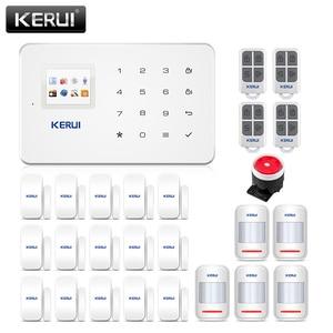 Image 1 - Kerui G18 Apps Steuer Home Security Alarm System 433MHz GSM Einbrecher Alarme Anzug Motion Detektor Alarmas De Seguridad Para casa